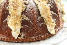 BUNDT CAKES / by Kriss Gibbons