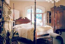 Tallpost Beds / Stately, master bedroom beds