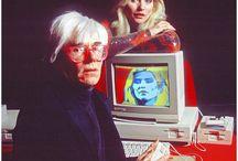 """#AndyGoesToPisa Photo Challenge / Una performance creativa sui social network per coinvolgere gli appassionati di Andy Warhol in occasione dell'esposizione di Pisa a Palazzo Blu """"Andy Warhol. Una Storia Americana""""."""