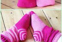 Ponožky, bačkůrky, botky