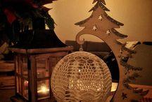 Moje Bombki / My DIY Christmas baubles / Wszystkie bombki są wykonane przeze mnie różną techniką. Więcej informacji pod wanda.petkowicz@gmail.com