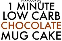 1 minute low-carb cake