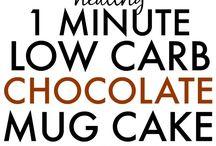 Recipes mugcake paleo, keto, nocarb, low carb