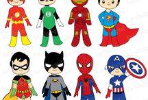 clipart ήρωες
