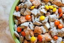 Specialty holiday snack ideas.