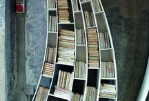 Storing books - book cases