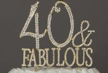 40th birthday ideas