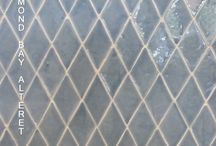 Diamond Tiles hand made 14'5x8'5x1 cm