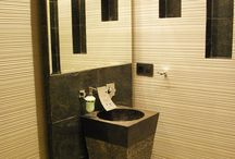 Pedestal sinks - Freestanding Sinks / Stone pedestal sinks made by Lux4home™. Freestanding sinks.