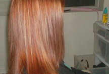Hair color  / by Brooke Rivenbark