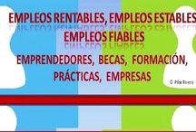 EMPLEOS RENTABLES, ESTABLES, EMPLEOS FIABLES