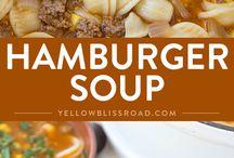 Soups / Hamburger