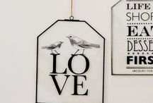 Love is all around us! / Everything you need to show some LOVE - be it Valentine's Day or any other day of the year....