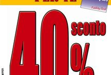 2/1: SCONTO 40% SU TUTTO! / Solo il 2/1 sconto 40% su tutto (esclusi Garmin e Polar) per i fidelizzati! Corri in negozio :)
