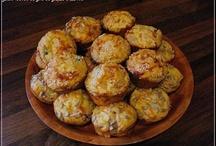 Recepty - slane muffiny
