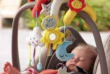 Travel Toys for Babies / Traveling with little ones can be tricky - here's some amazing sensory toys from East Coast's 'Say Hello' range that will make the journey more fun for baby and parents.