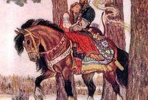 Картины народные сказки