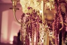 Candelabra Centerpieces / #Wedding #Centerpieces #gold# candelabras, silver candelabra