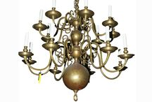 Selection of Luxury Antique Lighting / The rare and the Beautiful. Any sorts of French chandeliers, Spanish lanterns, desk lamps, wall sconces... All items for sale on www.grahamgeddesantiques.com