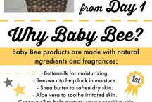 Natural Baby Care / Expecting and new moms want keep their babies healthy, happy and safe, and it's the motivation behind the Burt's Bees Baby Bee collection. Find ways to raise your baby natural from day one, from planning the perfect natural baby shower to using natural baby products with gentle ingredients. / by Burt's Bees