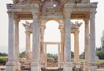 Castles~Cathedrals~Ruins... / by Julie Chauvin