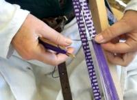 Inkle loom weven