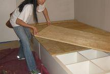 Nikaia's dream bunk bed. / by Mel J.