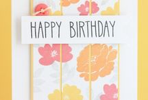 Scrapbooking- birthday card