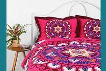 couvre lit / des couvre lit