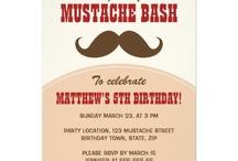 Convites de festa de aniversário