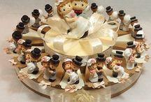 bomboniere matrimonio a forma di torta