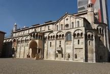 Modena / Modena - italské město na hranici Florencie a Milána