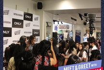 Meet & Greet with Kritika Khurana / We organized a meet and greet with Delhi Fashion Blogger, Kritika Khurana from That Boho Girl to #DenimizeTheWorld on the 30th April, at the ONLY Store in DLF Place, Saket.  Here's a glimpse of a day when the denim fever took over these fashionistas.