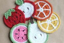 crochet coasters
