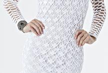 vestido curto croche