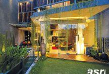 Interior Rumah Bang Alvin, Bintaro, Jakarta Barat