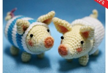 amigurumi farm animals