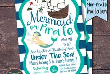 Mermaids & pirates party