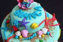 Diy: Ariel cake