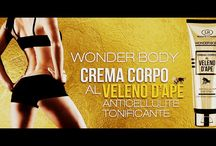 Wonder Body Crema Corpo al Veleno d'Ape / http://www.goldnoir.it/crema-veleno-api-lr-wonder-company.asp?pagina=prodotti&tipologia=Creme%20al%20veleno&tiptxt=Creme%20al%20veleno%20d%B4api