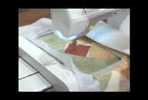 using embroidery machine as a quilting machine