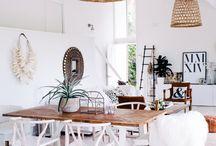 Salle à manger/salon / Idées déco salle à manger et salon de notre future maison