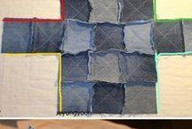 Старые джинсы сумка