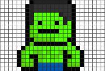pixel-characters