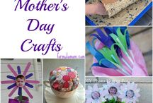 Mothers Day Crafts / Crafts for Mothers Day. Gifts, gift ideas and decoration #cbloggers #lbloggers #crafts