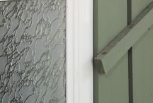 Glass Options / Glass Options: Pinhead, Delta, Artic, Gluechip, Satin Etch, Niagra / by Centra Windows Inc.