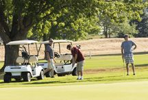 Sunrise Pointe Golf Course / Amenities offered at King's Pointe Resort in Storm Lake, IA:  Sunrise Pointe Golf Course, Pirates' Pointe Miniature Golf Course, Water Rentals, Beach, Lighthouse, & Playground