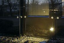Exterior ground lights