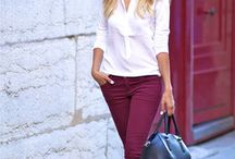 Beautiful Burgundy / The colour of AW13
