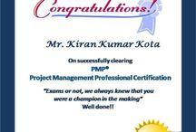 PMP Certified - Success